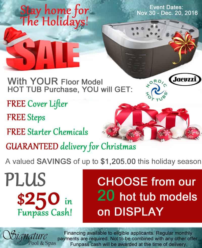 Signature Pool & Spas - holiday-savings-2016