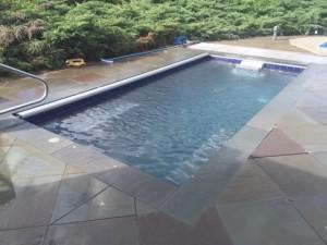 Swim Resistant Spa build -Pool Builder, Signature Pool and Spas in North Kingstown RI
