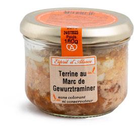 Terrine au Marc de gewurztraminer - 180 g