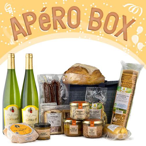 Photo des produits de la COLMAR APéRO BOX CéPAGE