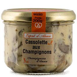 Photo de la Cassolette de Champignons COLMAR BOX APéRO