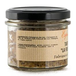 Photo de l'étiquette de la Tartinade La Forestière COLMAR BOX APéRO