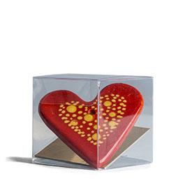 Photo du Cœur fabriquée à partir de l'argile de Soufflenheim