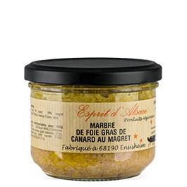 Photo du Marbré de foie gras de canard et magret de canard de la COLMAR BOX SUMMUM