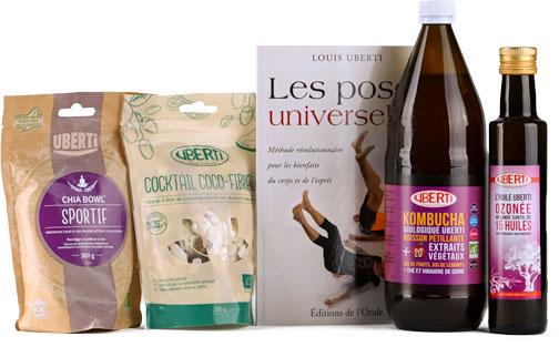 Photo des produits de la box Détox 100% Alsace - UBERTI-M3