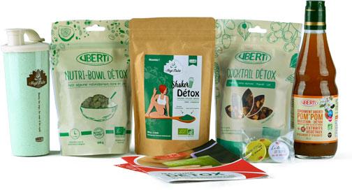 Photo des produits de la box Détox 100% Alsace - UBERTI-M1