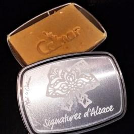 Savon au miel de COLMAR</br>dans sa boîte</br>Signatures d'Alsace