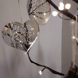 5 Suspensions miroir Signatures d'Alsace