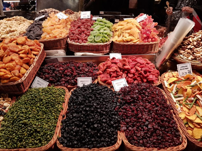 Types of Food in Barcelona