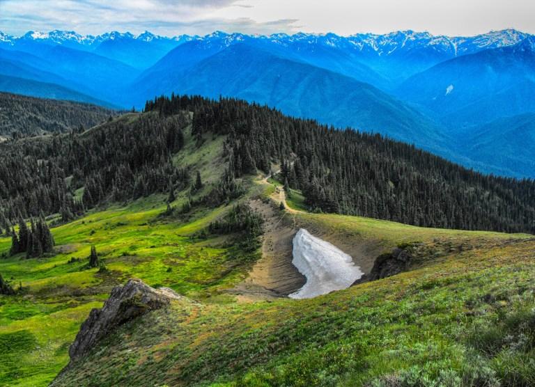 Beautiful mountains in Alaska