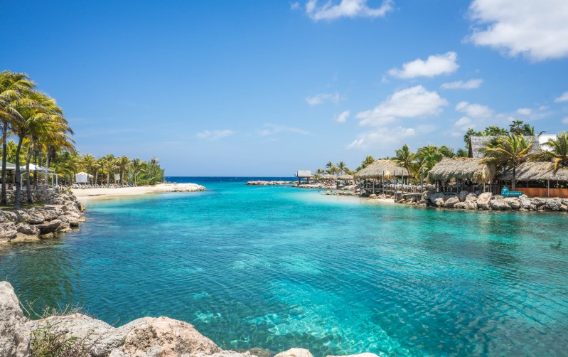 Willemstad Lagoon in Curacao