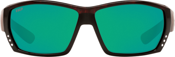 Costa Tuna Alley Tortoise Green Mirror Sunglasses at Signature Stag Lubbock features a Tortoise Frame and Green Mirror Lenses.