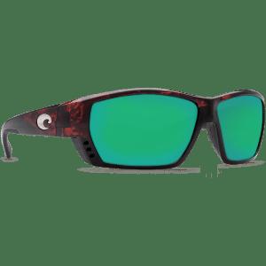 Costa Tuna Alley Tortoise Green Mirror 580P Sunglasses at Signature Stag Lubbock