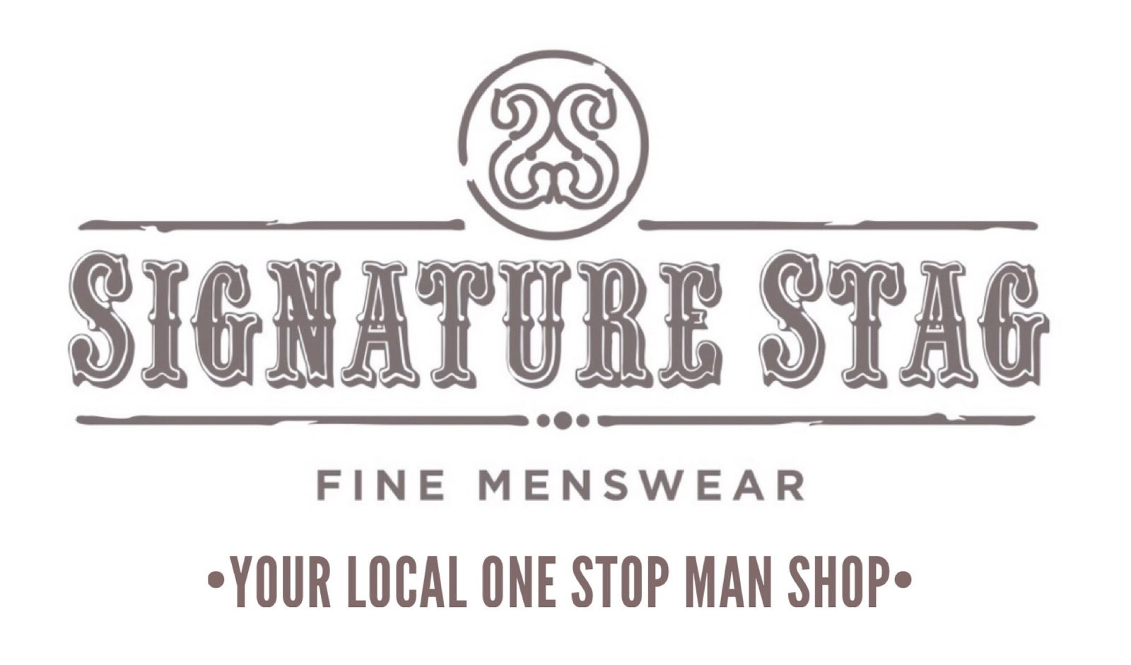 Mens' Wear Jackets and Suits and Signature Stag