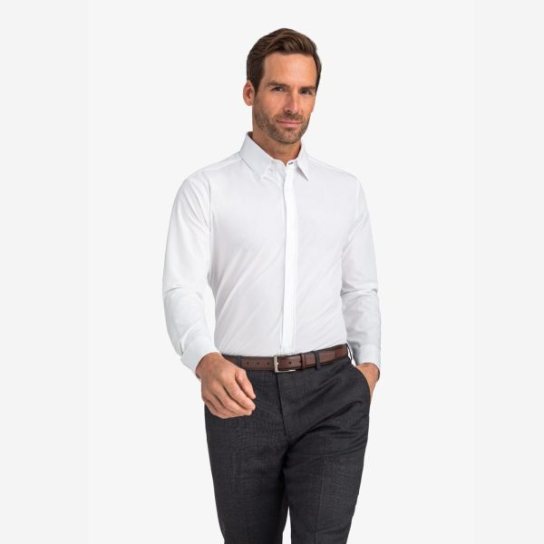 Leeward Blue Label Solid White at Signature Stag
