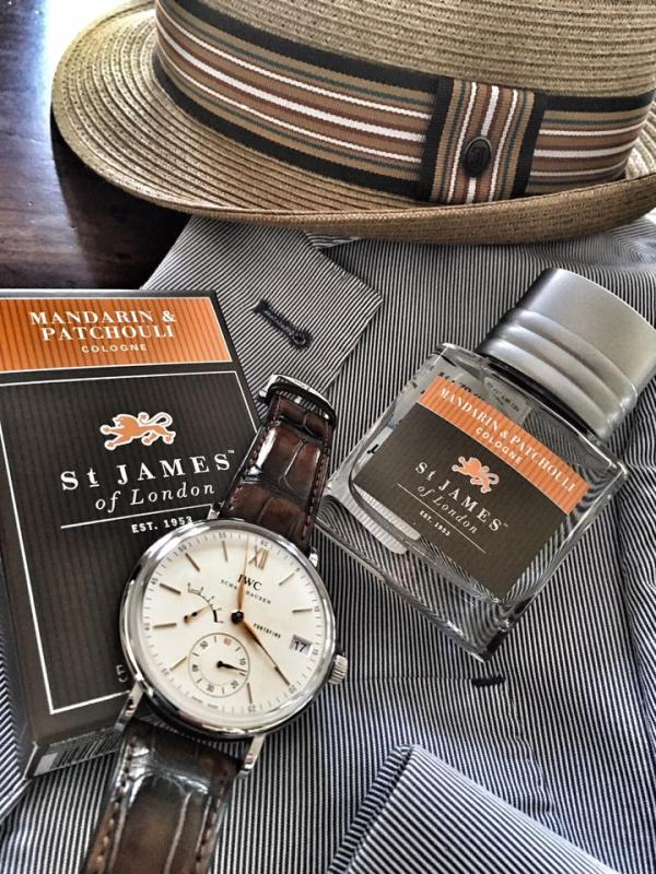 St. James of London Mandarin & Patchouli Cologne in Lubbock Texas at Signature Stag