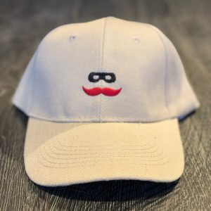 Khaki Baseball Hat with Mustache Logo. Buy the latest Texas Tech Red Raiders Hats and choose our wide selection at Signature Stag in Lubbock.