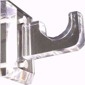 lucite acrylic rod support brackets