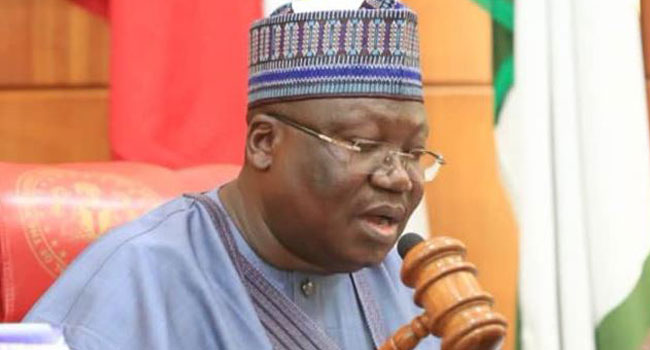 Ahmed Lawan, Senate President