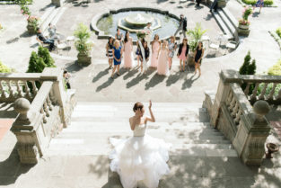 Grace & Yulin Lovely Toronto Garden Wedding