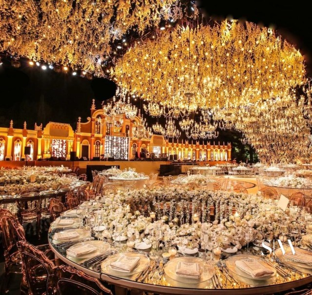 This Absolutely Extravangant Lebanese Wedding Is Grandiose and Spectacular