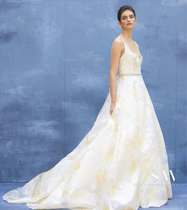 AMSALE Fall 2018 Wedding Dress Collection—New York Fashion Week