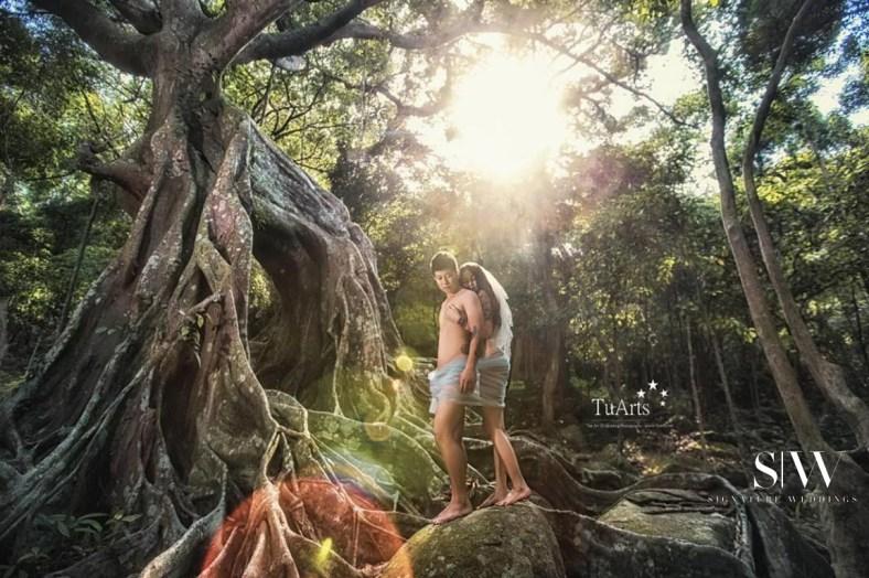 Bare Couple Pre-Wedding Photoshoot TuArts Wedding (8)
