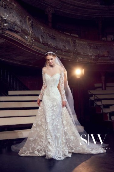 ELIE SAAB Fall 2018 Bridal Collection—New York Fashion Week