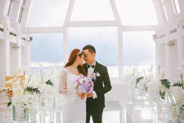 Janice & Everest's Heavenly Wedding in the JAL Private Resort Okuma
