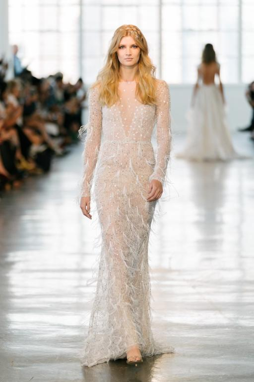 BERTA Bridal Fall 2018 Collection—New York Bridal Fashion Week