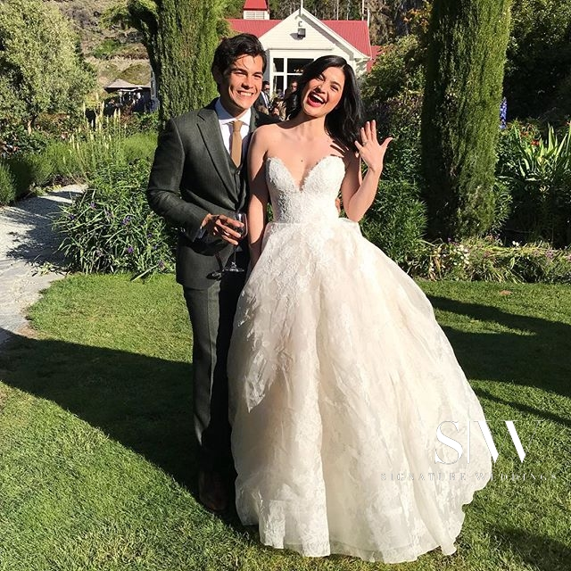 wedding, global-wedding, celebrity - Anne Curtis Smith and Erwan Heussaff's Très Romantique Wedding in New Zealand