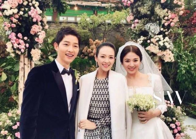 Song Hye Kyo wedding