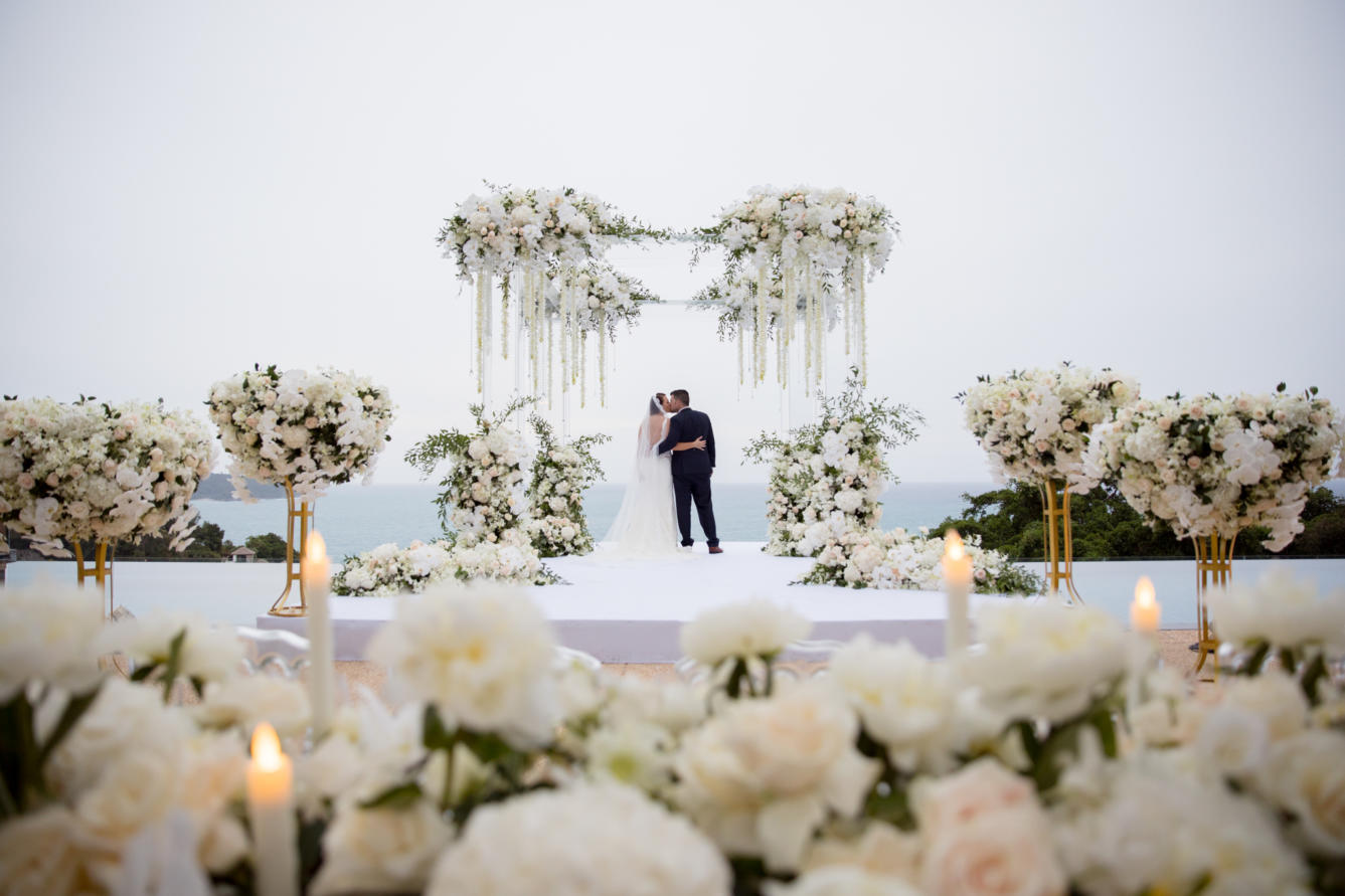 ideas, wedding, thailand, phuket, global-wedding, featured, destination-weddings - Nip and Beau's regal nuptial in Phuket, Thailand