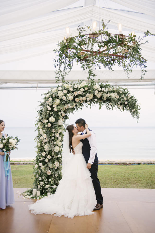 thailand, phuket, global-wedding, featured, destination-weddings - Sharon and Rick's Dreamy Blue and White Wedding in Phuket