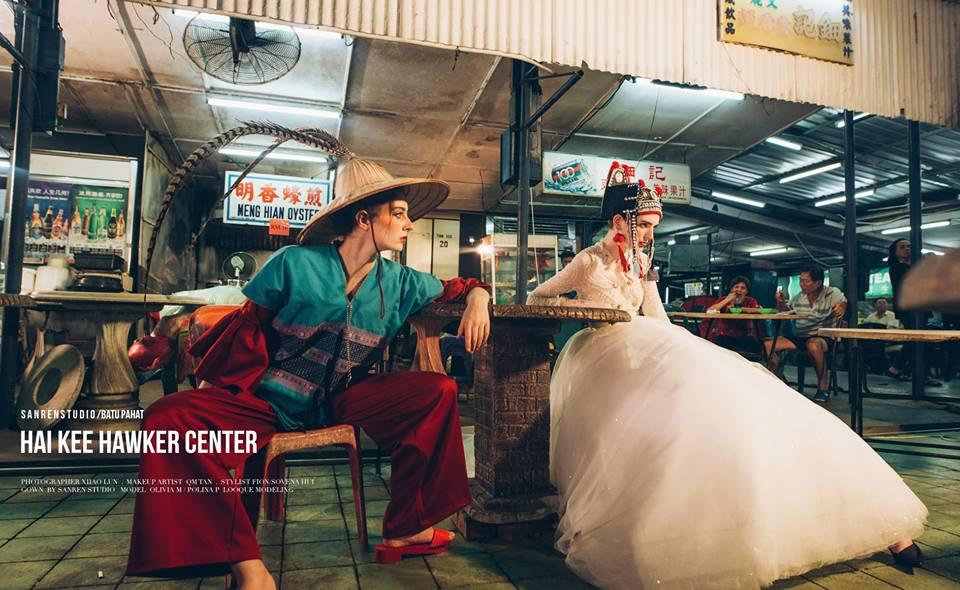 San Ran wedding work in Batu Pahat
