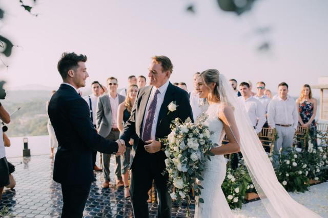 Laney and Mike's organic inspired wedding in Baba Nest, Phuket