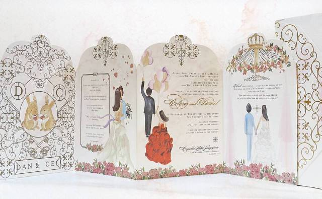 Tandy: The man behind crazy rich Asian wedding invitations