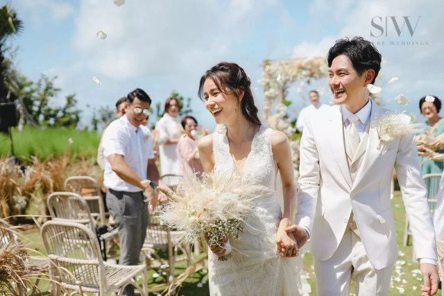 wedding, featured, celebrity, bali-wedding - Edwin Siu & Priscilla Wong Celebrates Their Wedding in Bali In The Most Beautiful Way
