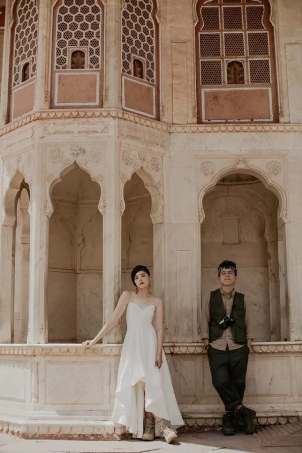 Malaysian Couple Chooses India, Exotic Destination Shoot