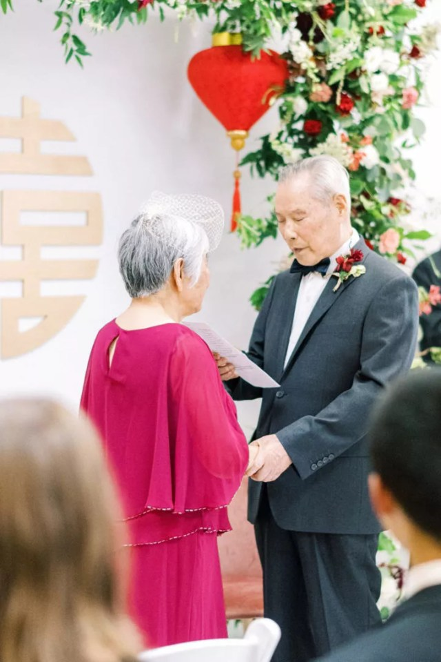 A Surprise Traditional Chinese Wedding 60 Years in the Making