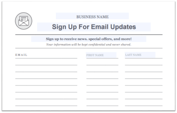 paper signup
