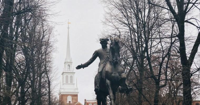 A recent trip to Boston