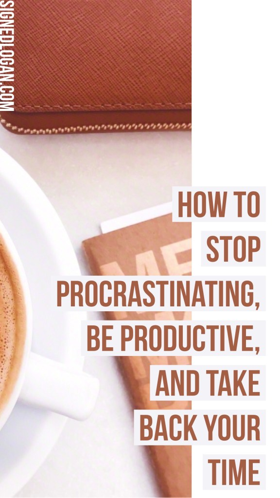 How to Beat the Procrastination Game - Procrastination is the killer of productivity, which means you have to make some changes. I've listed out my most comprehensive tips and advice to help you beat the procrastination game and take back your time! Are you ready to make some changes to become more productive? Let's beat the procrastination game! #productivityhack #procrastination #beproductive