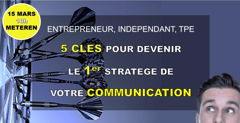 """15 MARS : atelier """"5 clés de communication"""" à Méteren"""