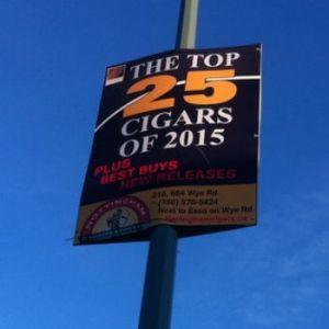 Coroplast Pole Sign