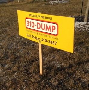 Yard Signage