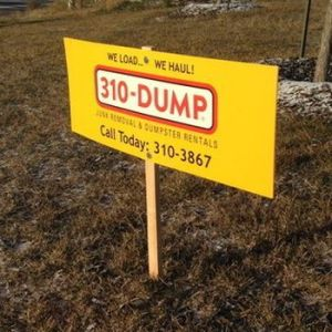 Coroplast Signs Edmonton West