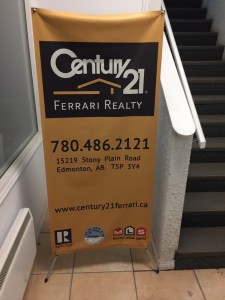 Fort McMurray X-Frame Banners