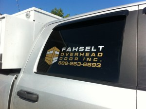 Spruce Grove Sign Writing