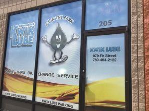 Spruce Grove Window Sign